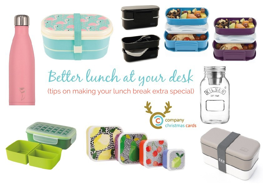 Have a better lunch at your desk